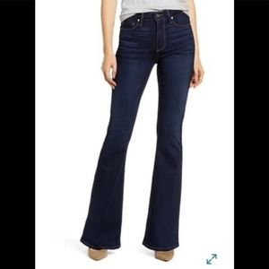 NWT Paige Bell Canyon High Waist Jeans